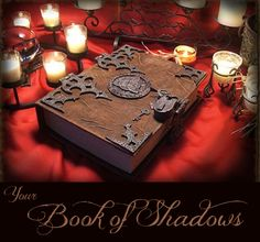 Everything you need to know about keeping your own Book of Shadows #wicca #witchcraft