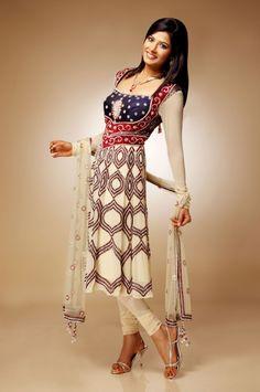 Pakistani Shalwar Kameez 2014 ... #ShalwarKameez #Fashion #AnarkaliSalwarKameez