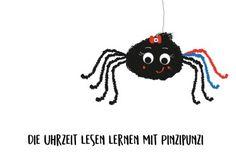 Die Uhr lesen lernen mit Pinzipunzi – Eine Lerngeschichte mit Freebie