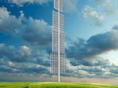 New wind energy harvester design looks like giant window blinds