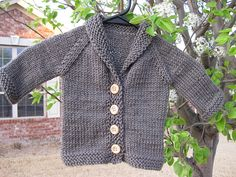 #knitting #cardigan #baby