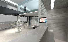 Pharmacy design, in Athens   Interior Designer   iidsk Kyriakos Serefoglou