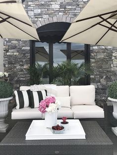 nice How To Create The Ultimate Outdoor Space - Jillian Harris Patio Furniture Makeover, Patio Furniture Cushions, Balcony Furniture, Outdoor Furniture, Furniture Ideas, Furniture Layout, Pallet Furniture, Geek Furniture, Furniture Design