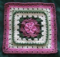 Veronica's Rose - Ravelry free pattern