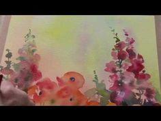 Watercolour Magic Garden by Trevor Waugh