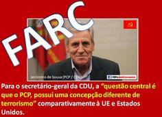 #COCAÍNA, #PCP (PARTIDO COMUNISTA PORTUGUÊS) E #FARC https://fdpv.wordpress.com/2015/08/26/cocaina-pcp-partido-comunista-portugues-e-farc-fuerzas-armadas-revolucionarias-de-colombia/…
