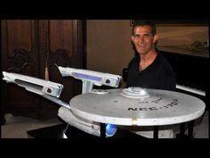 Star Trek 6 foot scratch built Enterprise A - Construction. Link download: http://www.getlinkyoutube.com/watch?v=wbbkbWuBHnQ
