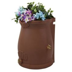 Good Ideas Rain Wizard 50 Gallon Rain Barrel Urn