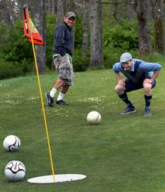 I can't wait to play footgolf...Meadow Park opened the first footgolf course in Washington on May 1st!!