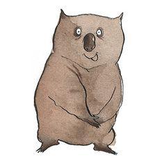 Ben Wood. Cute wombat.