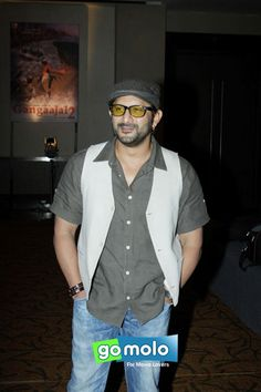 Arshad Warsi at the Launch of Prakash Jha's new movies in Mumbai