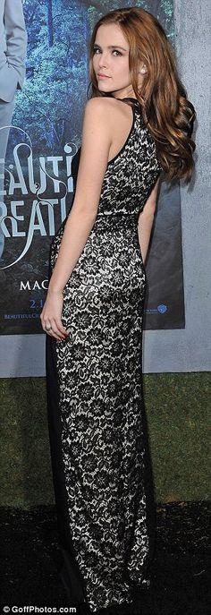 Zoey Deutch @ Beautiful Creatures Movie Premiere