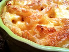 Baked Macaroni & Cheese - two versions - a creamy baked one, and an old-fashioned custardy baked one, both good!