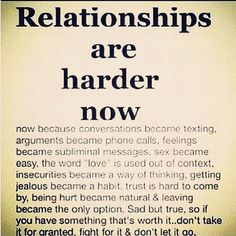 Relationships are hard. Don't take them for granted, fight for it.