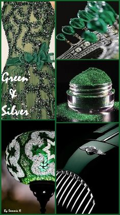Green and Silver By Sammie R
