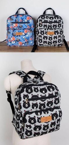 Download #1307 Elina Backpacks (2 Sizes) PDF Pattern immediately at Makerist