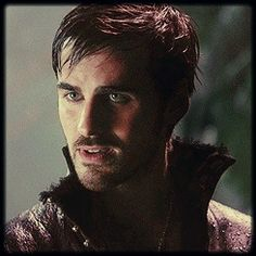 Killian Jones/Captain Hook. He is one of my favorite characters. He sauntered in with those eyebrows, innuendo, and now his love for Emma. Oi! You're killin' me Captain.