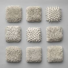 Texture- how were they made? What do the feel like? Use as Inspiration