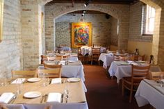 Stella's Trattoria in Traverse City, MI.  Located in a former insane asylum.  Don't let that deter you.