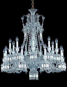 "Baccarat Zenith Chandelier, 18 Light - Crystal Classics | 44,900.00 | 40""h x 40""w"