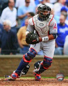 Cleveland Indians - Carlos Santana 2012 Action