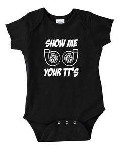 Infant Gerber Onesies Bodysuit Baby Boy Gift Print GT-R R34 Sky-line Racing Car
