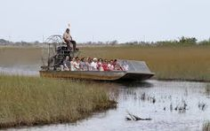 Fun ride in the Everglades