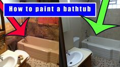 How to paint a bathtub video  This is a 9 minute video showing how to paint a bathtub for under $50