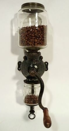 Arcade Wall Mounted Coffee Grinder