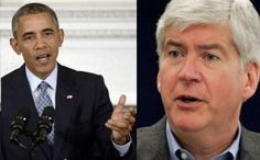 "Obama To Gov Snyder: Water Poisoning Is No ""Natural Disaster,"" You Knew About It A Year Ago"