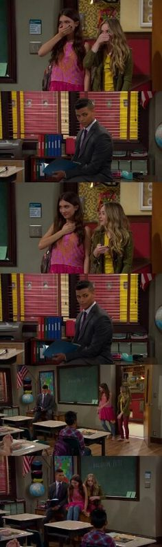 "#GirlMeetsWorld 2x01 ""Girl Meets Gravity"""
