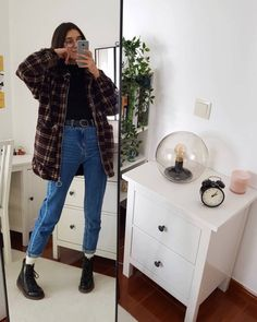 I tried to recreate one of outfits Check out her account her style is amazing! Dress from: Motel Rocks 🖤 Grunge Outfits, Indie Outfits, Edgy Outfits, Retro Outfits, Cute Casual Outfits, Fall Outfits, Vintage Outfits, Fashion Outfits, Grunge Clothes