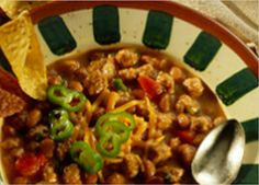 white bean chili white bean chili made with johnsonville stadium style ...