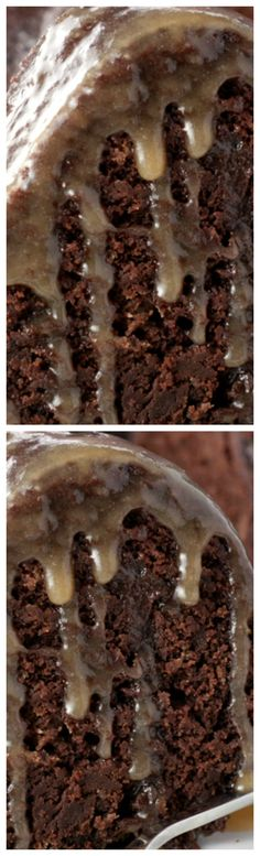 Hot Chocolate Coffee Rum Cake ~ Made from scratch rich, moist bundt cake... This dessert is rum-soaked perfection!