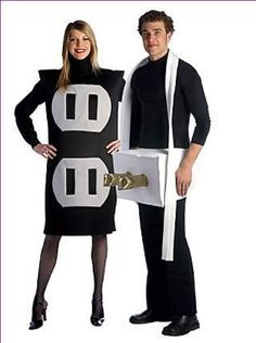 DIY+Couples+Halloween+Costumes+Ideas | couples halloween costumes ideas unique, couples halloween costumes ...                                                                                                                                                                                 More