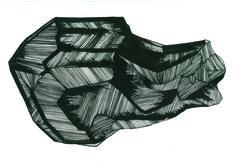 Cristal - bico de Pena e Nanquim - A3