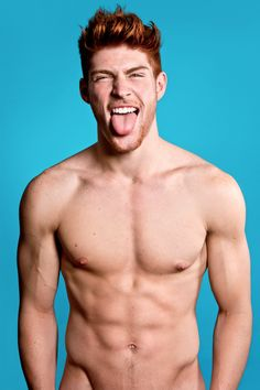 These Models End Any Debate Over Whether Ginger Men Are Sexy......seems like Thomas White is whining but still enjoyed the pics