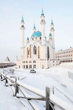 Kul Sharif mosque in Russia.
