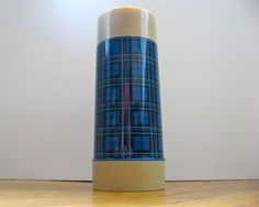 Aladdin Blue Plaid Thermos by HelloVintageDistrict on Etsy Blue Plaid, Aladdin, Trending Outfits, Unique Jewelry, Handmade Gifts, Vintage, Etsy, Kid Craft Gifts, Craft Gifts