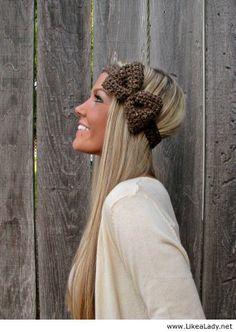 Barley Bow Headband