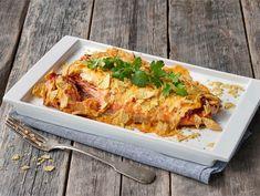 Texmex uunikala   Valio Fodmap Recipes, Atkins Diet, Tex Mex, Fish And Seafood, Chicken Wings, Lasagna, Chili, Meat, Ethnic Recipes