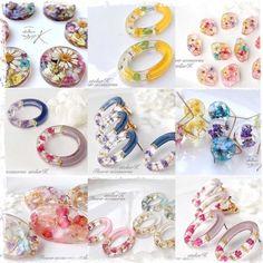 Resin Jewelry, Diy Jewelry, Jewelry Box, Jewelry Design, Jewellery, Resin Crafts, Resin Art, Diy Accessories, Designer Earrings