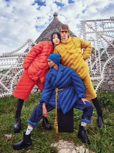 Fashion Cover, Dope Fashion, High Fashion, Vogue Japan, Vogue Uk, Anna Dello Russo, Annie Leibovitz, Winter Jackets, Puffer Jackets