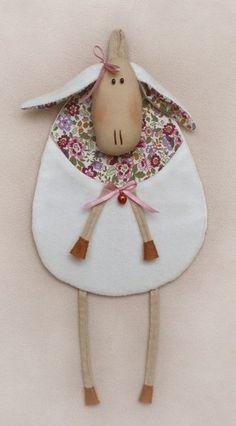 Символ 2015! Овечка. Набор для шитья мягкой игрушки куклы Тильда. Выкройка в натуральную величину