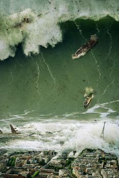 Tsunami - so scary!