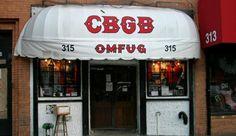 CBGB  -  In the East Village