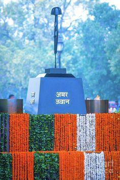 India Photograph - India Gate - Amar Jawan Jyoti by Neha Gupta Republic Day Photos, Republic Day India, Indian Flag Wallpaper, Indian Army Wallpapers, National Flag India, National Guard, Indian Army Special Forces, Indian Flag Images, Indian Army Quotes