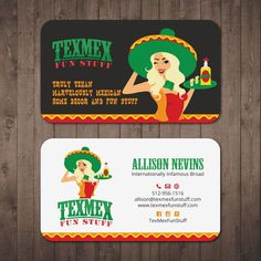 Biz Cards for an Internationally Infamous Broad by Tcmenk
