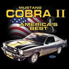 Ford Mustang Cobra II Men's T Shirt GRAPHIC IS MADE TO LOOK OLD AND DISTRESSED Choose Shirt Color: Black, Gray, Navy Blue, White Choose Size: M L XL 2XL (3XL Black and Gray Only) Choose Main Graphic o