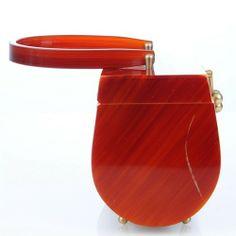 lucite deco purse | ... 1950s Lucite Pocketbook | VintageAnelia - Bags & Purses on ArtFire